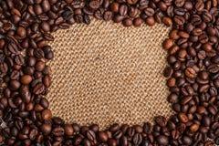 咖啡框架  免版税库存照片