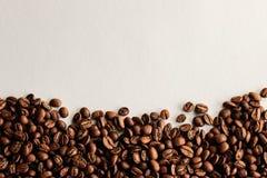 咖啡豆海报 免版税库存图片