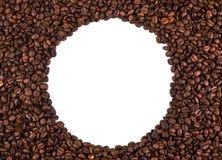 咖啡豆的范围 库存照片