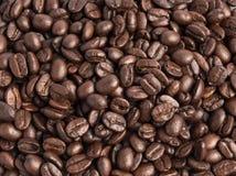 咖啡豆纹理背景  免版税库存照片