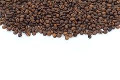 咖啡豆背景 图库摄影