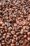 咖啡豆背景 免版税库存图片