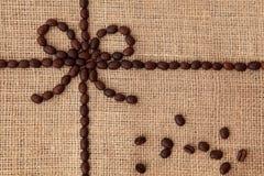 咖啡豆设计 库存照片