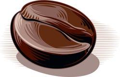 咖啡豆,敬酒 库存图片
