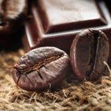 咖啡豆,浅dof 库存图片