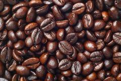 咖啡豆(粗粒咖啡) 免版税图库摄影