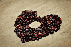 咖啡豆 库存图片