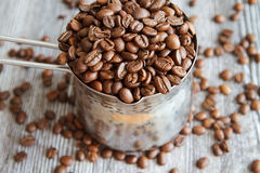 咖啡豆IV 免版税库存照片