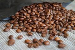 咖啡豆VI 库存图片