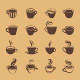 咖啡象 库存例证
