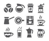 咖啡象 免版税库存图片