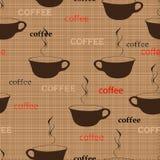 咖啡重复 向量例证