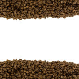 咖啡页脚标头模板 库存图片