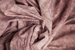 咖啡颜色被检查的织品作为背景 Bokeh,时尚,衣裳,织地不很细背景,缝合的产业,舒适和 库存图片