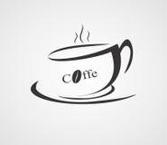 咖啡饮料查出的白色 向量例证