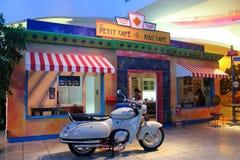 咖啡馆一点 免版税库存照片