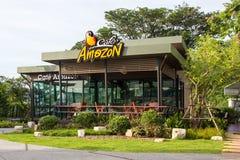 咖啡馆亚马逊咖啡店 库存照片