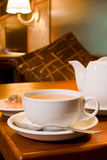 咖啡馆仪式茶 免版税库存图片