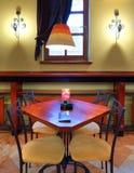 咖啡馆内部 免版税库存照片