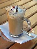 咖啡馆冰 免版税库存图片