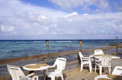 咖啡馆加勒比露台手段 免版税库存照片