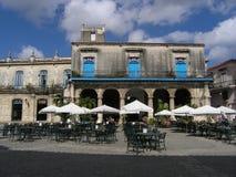 咖啡馆古巴 免版税库存图片