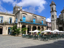 咖啡馆古巴 库存图片