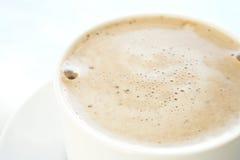 咖啡馆咖啡杯latte 免版税库存照片