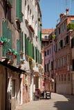 咖啡馆在威尼斯,意大利 免版税图库摄影