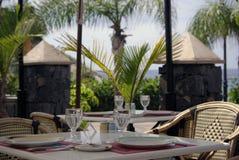 咖啡馆在特内里费岛 库存图片