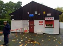 咖啡馆在英国 免版税库存图片