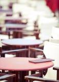 咖啡馆夏天 免版税库存图片