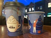 咖啡馆尼罗 库存照片