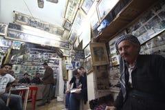 咖啡馆库尔德人传统 免版税库存照片