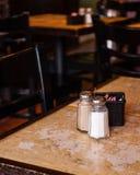 咖啡馆桌 库存照片