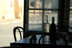 咖啡馆法语 免版税库存照片