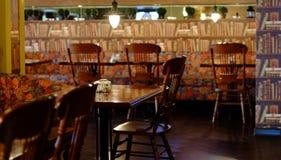 咖啡馆的内部 免版税图库摄影