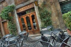 咖啡馆罗马 免版税库存图片