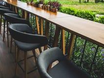 咖啡馆角落 免版税图库摄影