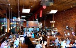 咖啡馆谢意坎萨斯城 免版税图库摄影