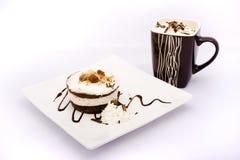 咖啡馆食物 免版税库存照片
