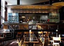 咖啡馆餐馆 图库摄影