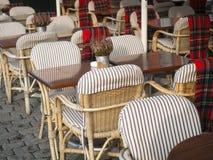 咖啡馆餐馆Nyhavn 免版税库存照片