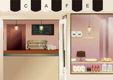 咖啡馆 库存照片