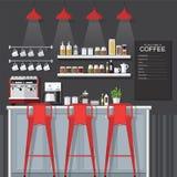 咖啡馆 免版税库存照片