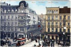 咖啡馆Bauer在柏林 库存照片