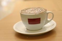 咖啡馆capuccino 免版税库存照片