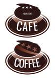 咖啡馆eps 库存例证