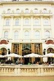 咖啡馆Gerbeaud在布达佩斯,匈牙利 库存照片