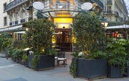 咖啡馆La closerie des Lilas,巴黎,法国 库存照片
